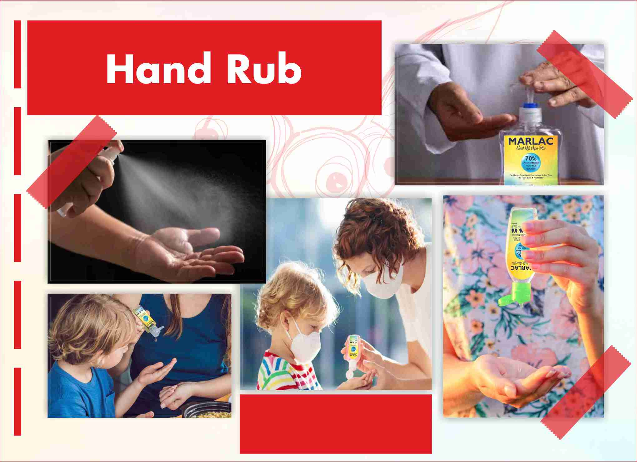 Hand Rub Aqua Blue